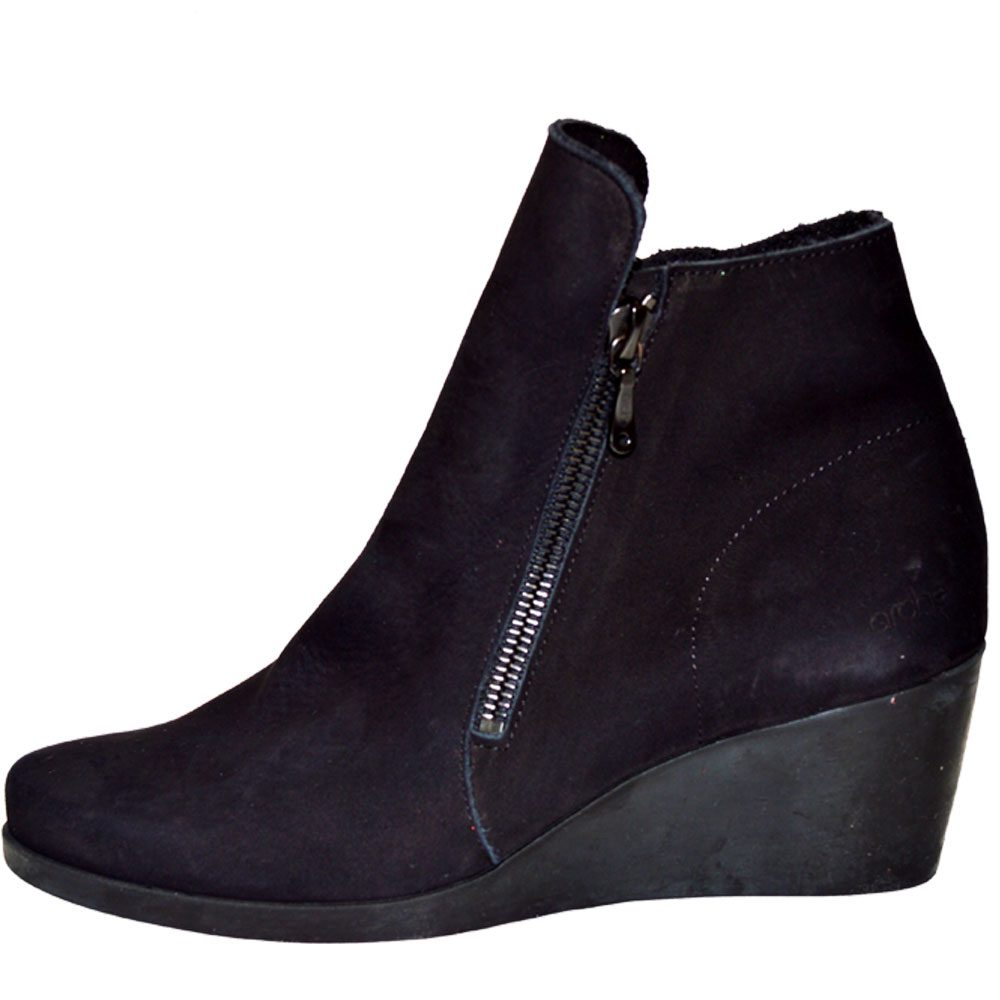 f3f0211a3362 Arche Jolia Ankle Boots (Black Nubuck) - Regal Shoes
